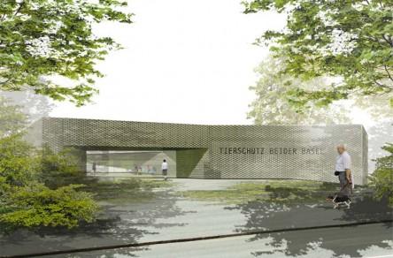 Tierheim beider Basel, Visualisierung, Schmid Kuepfer Architekten