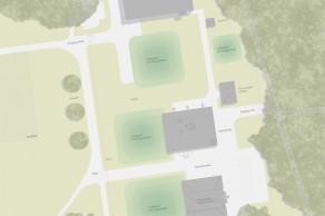 Studienaufrag IWB Pumpstation, Langen Erlen, Basel, Situationsplan