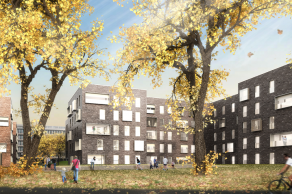 Projektwettbewerb Murifeld, Bern, Visualisierung