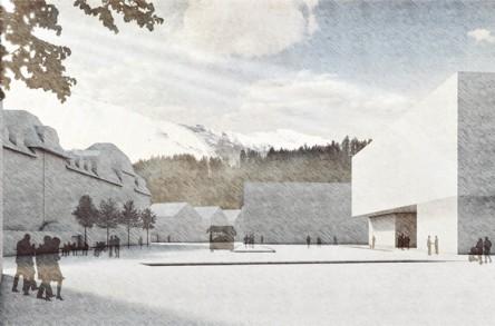 Testplanung Bahnhof Engelberg, Visualisierung