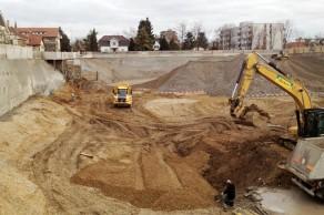 Steinreben, Reinach, Bauarbeiten