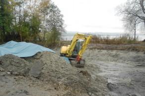 Schweizerische Vogelwarte Sempach, Bauarbeiten
