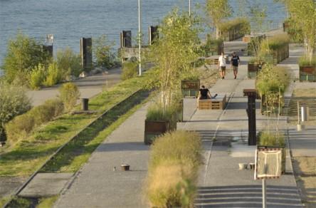 Klybeckquai, Rheinpromenade